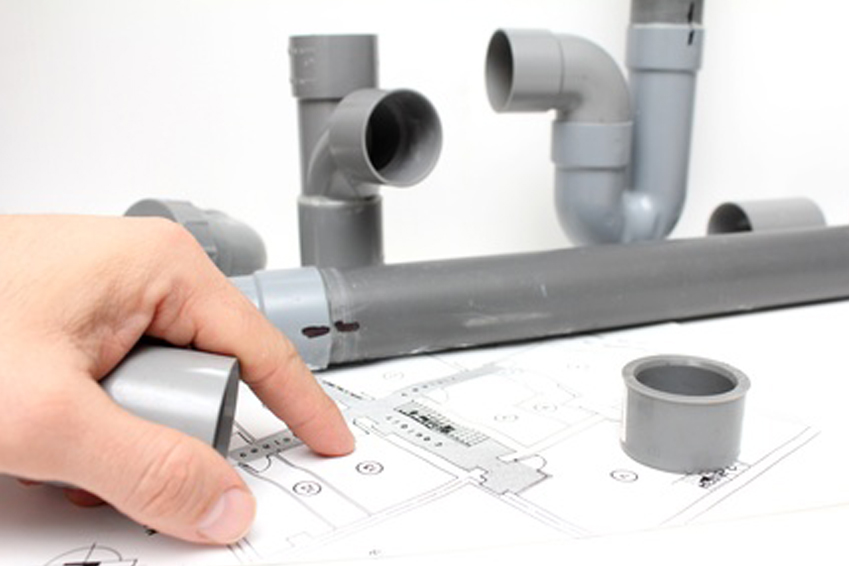 plan de travaux d'installation plomberie